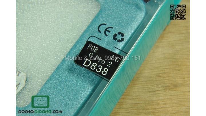 Bao da LG G Pro 2 D838 F350 Nillkin Sparkle