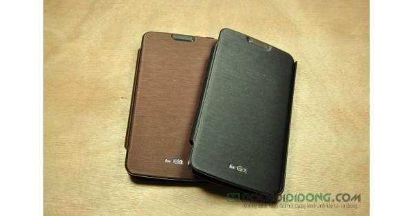 Bao da LG G2 F320 Mercury vân kim loại