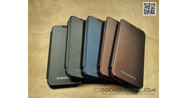 Bao da LG Optimus G Pro F240 E980 Mercury vân kim loại
