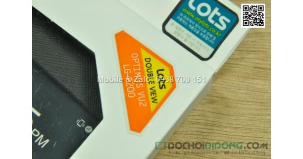 Bao da LG Optimus Vu 2 F200 Lots Double View