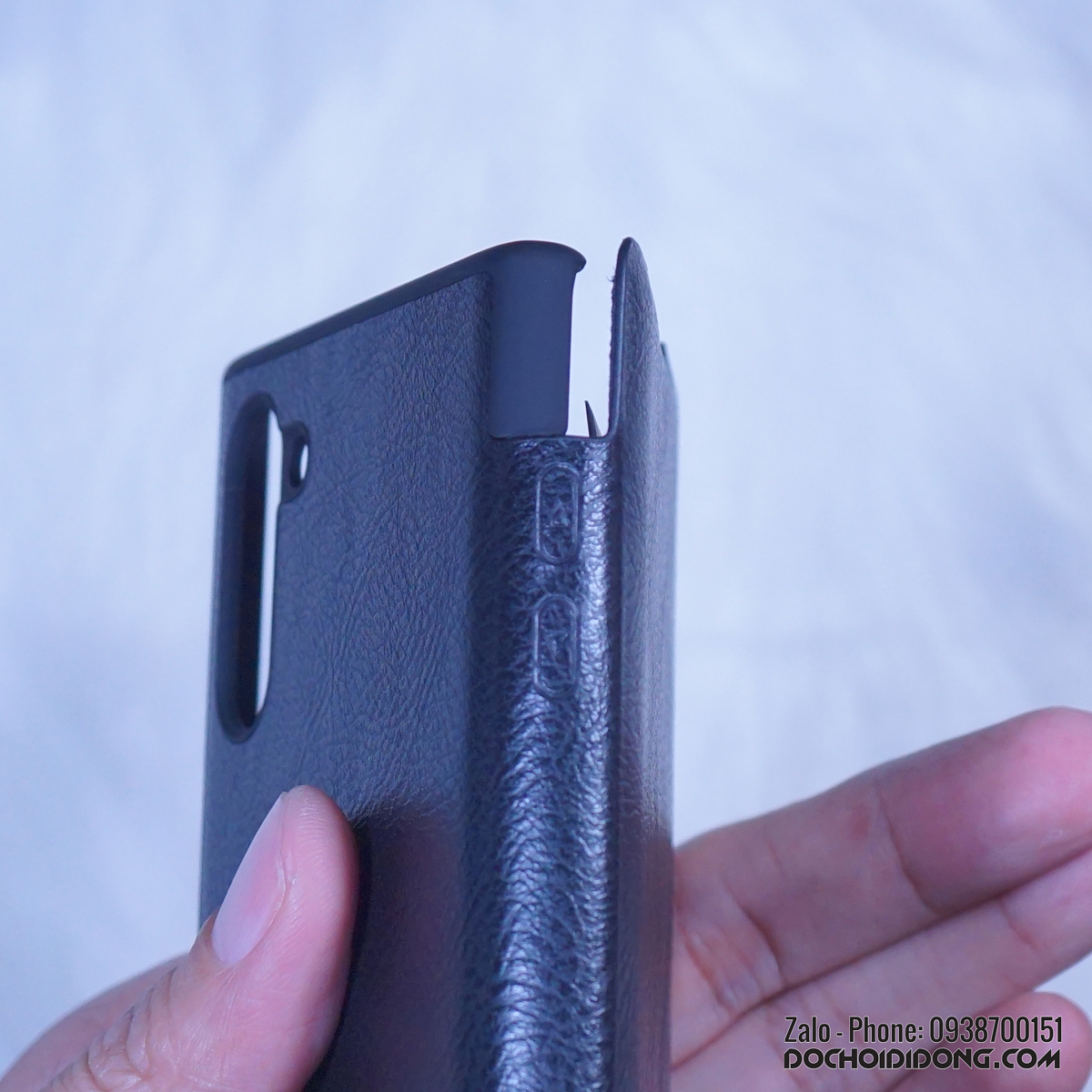 Bao da Samsung Note 10 Nillkin Qin cao cấp