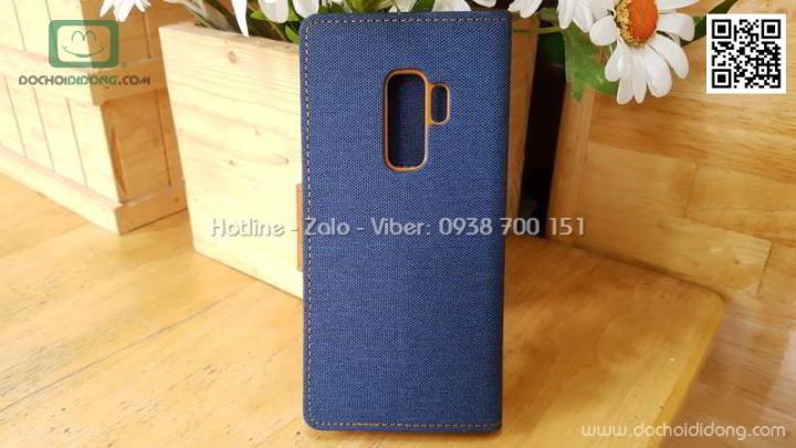 bao-da-samsung-s9-plus-mercury-canvas-diary-van-vai-nhet-card