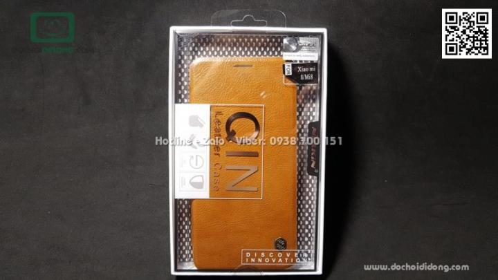 Bao da Xiaomi Mi 8 Nillkin Qin
