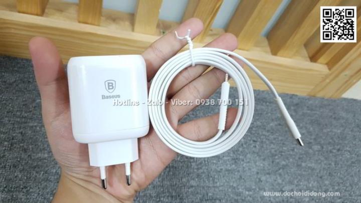 Bộ cáp sạc nhanh iPhone Macbook Baseus Type C PD 3.0 32W