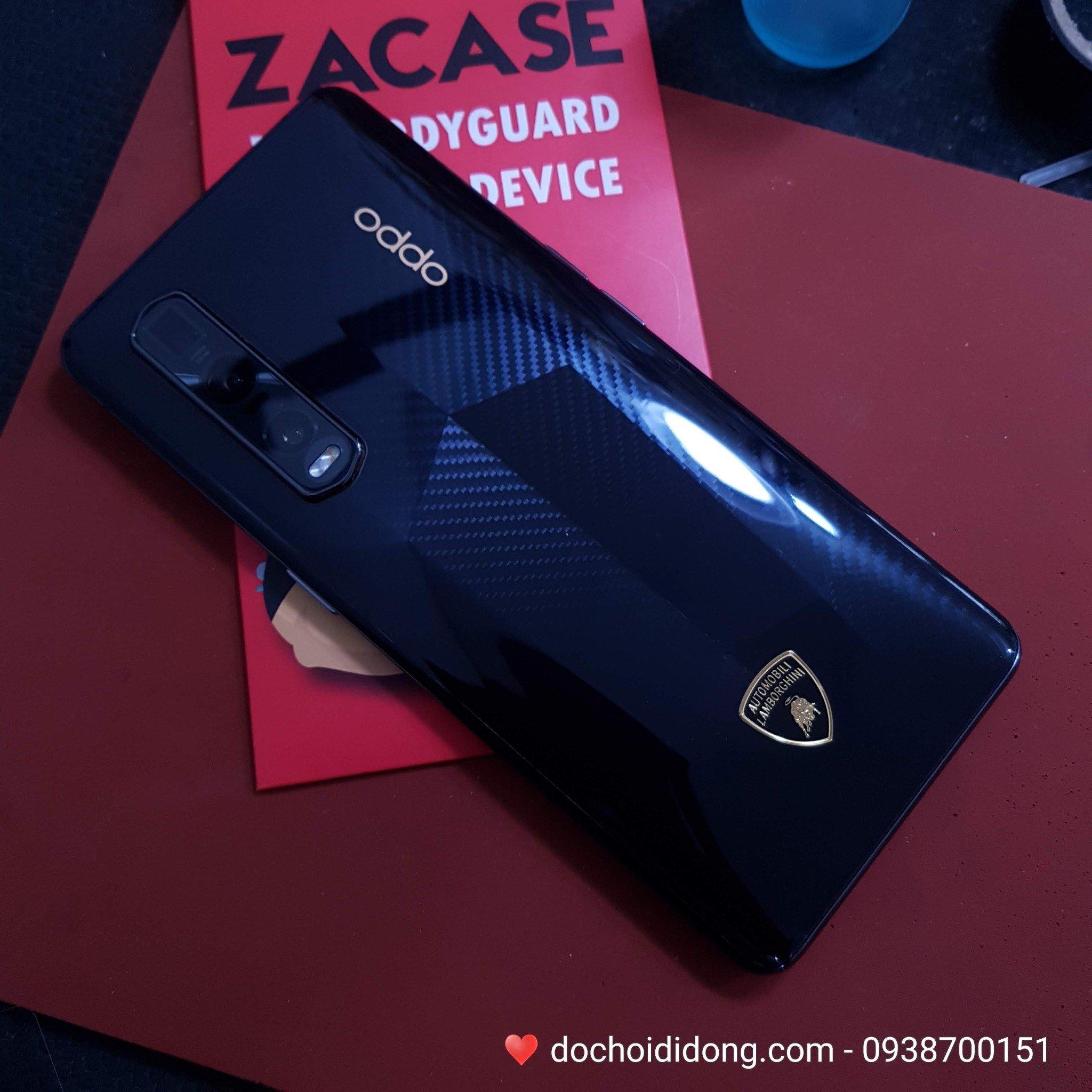 Miếng dán PPF Rock Oppo Find X2 Pro Lamborghini Edition trong, nhám, đổi màu cao cấp
