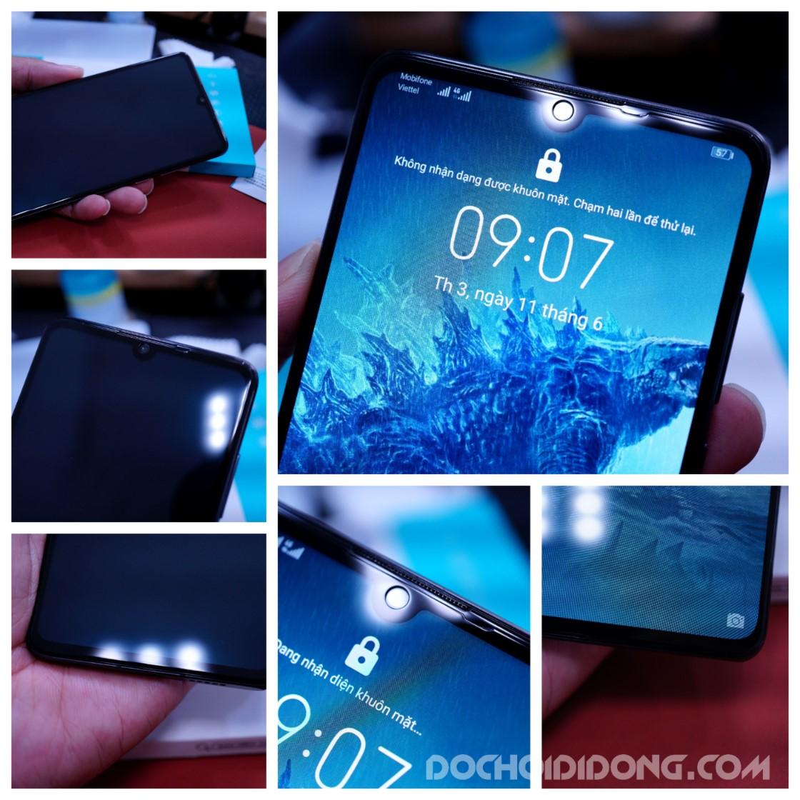 Miếng dán cường lực full màn hình Huawei P30 Nillkin XD CP+ Max