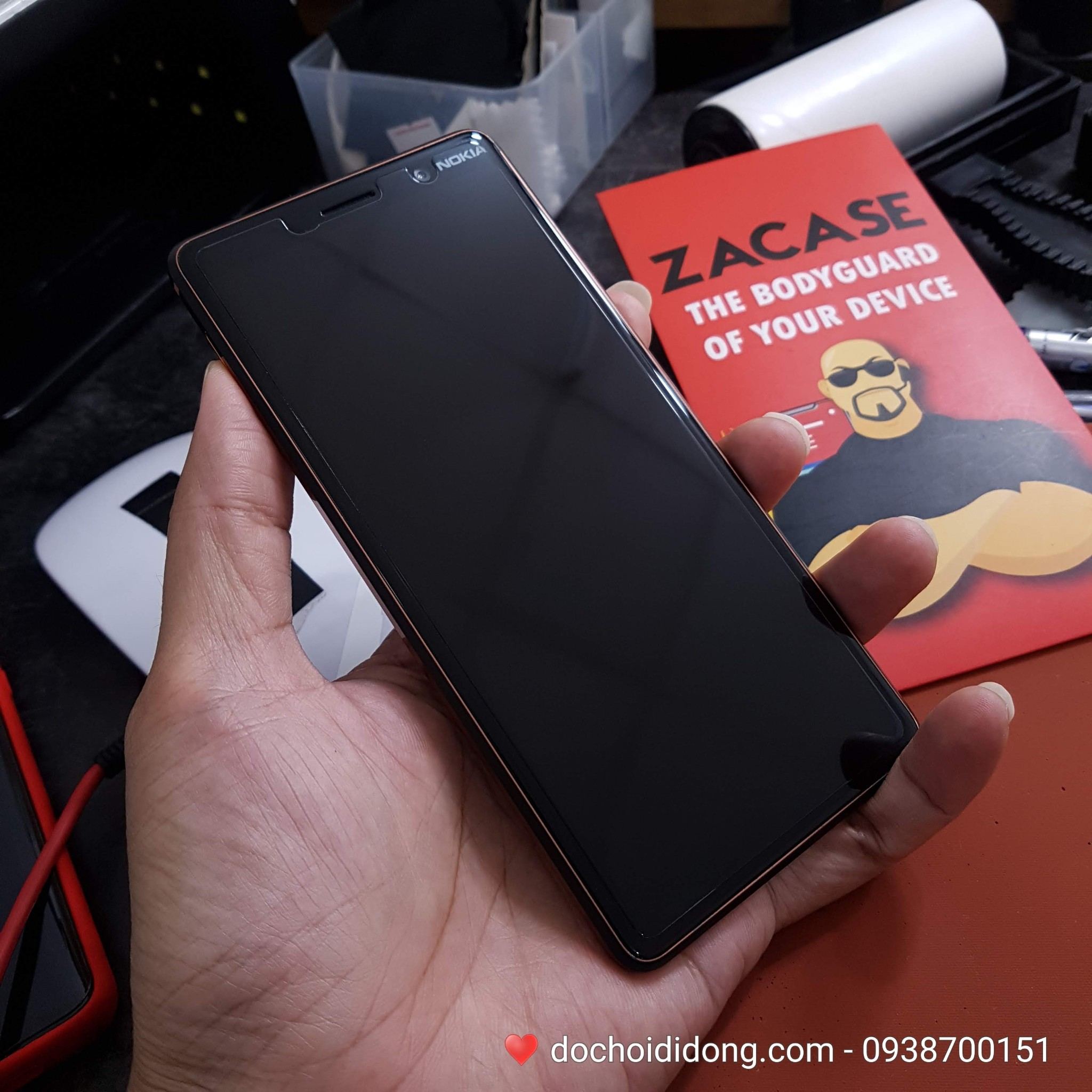 Dán cường lực Nokia 7 Plus Zacase All Clear