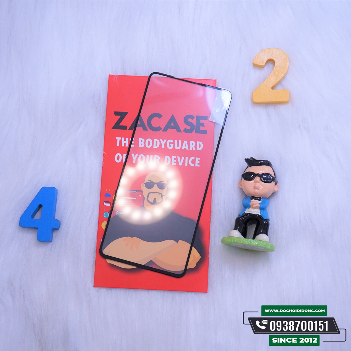 Dán cường lực Samsung A21s Zacase