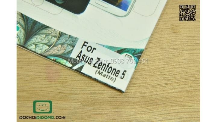 Dán màn hình Zenfone 5 chống vân tay