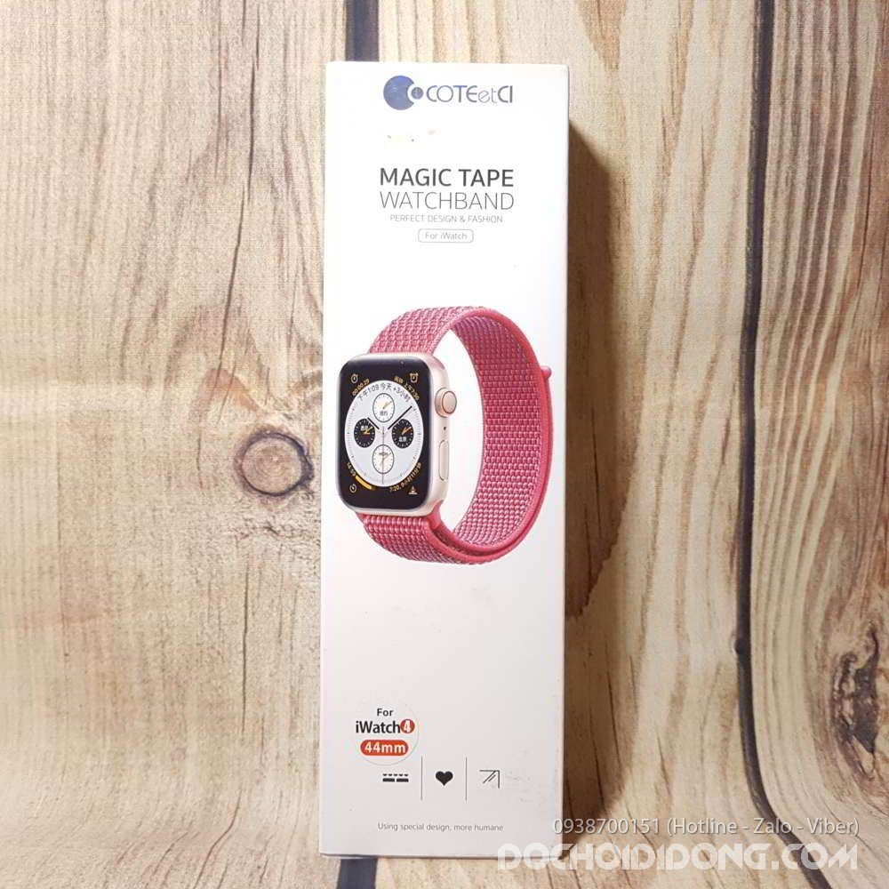 Dây Apple Watch 42mm 44mm Coteetci vải