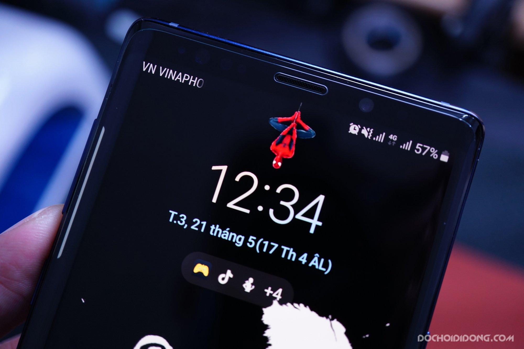 Miếng dán cường lực Samsung Note 9 Zacase trong suốt keo UV cao cấp