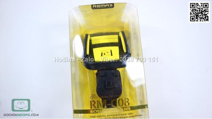gia-do-dien-thoai-remax-bicyle-phone-holder-danh-rm-c08-cho-xe-dap-xe-may