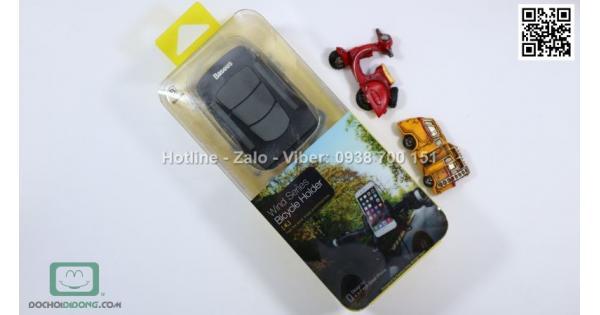 Giá đỡ điện thoại Baseus Wind Series dành cho xe đạp xe máy