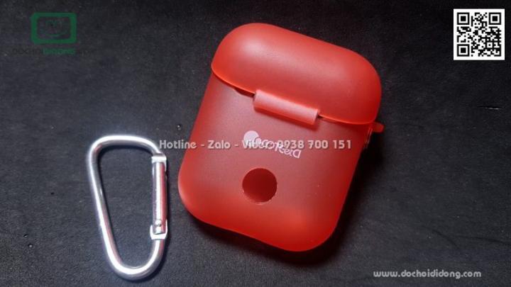 Hộp đựng AirPod Coteetci TPU siêu mỏng có móc