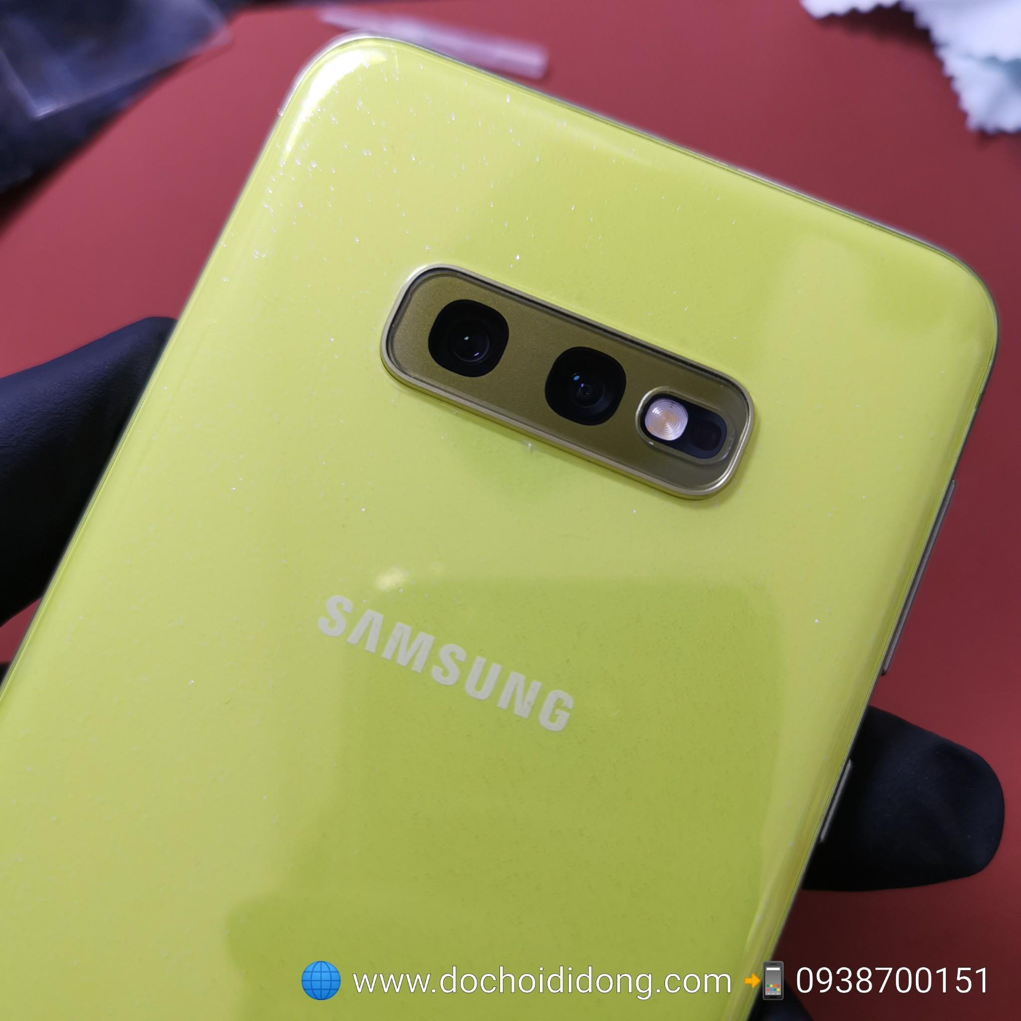 Miếng dán skin Samsung S10e Zacase