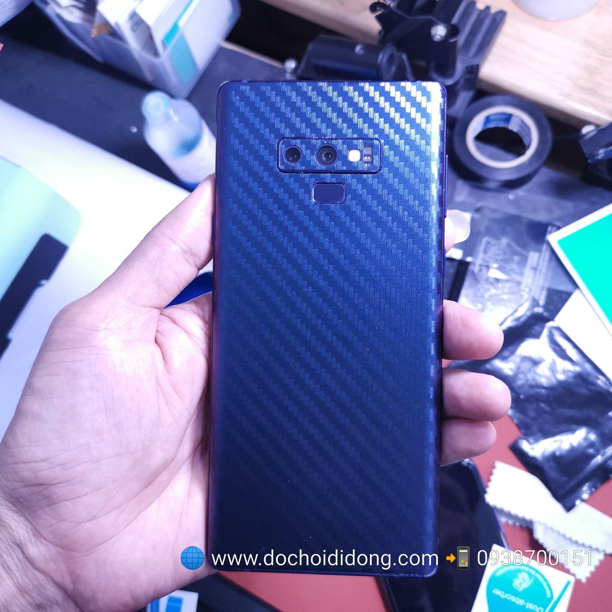 Miếng dán skin Samsung Note 9 Zacase