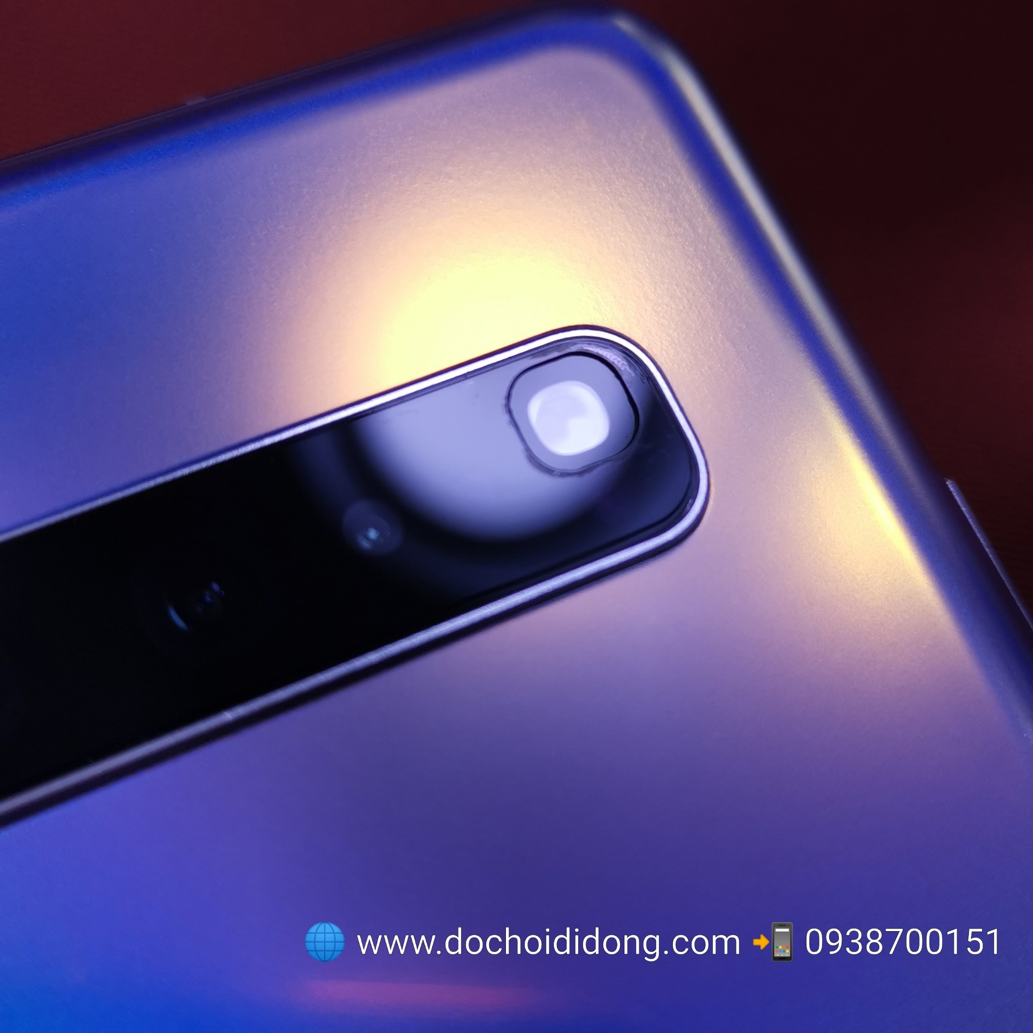 Miếng dán cường lực camera Samsung S10 5G 9H