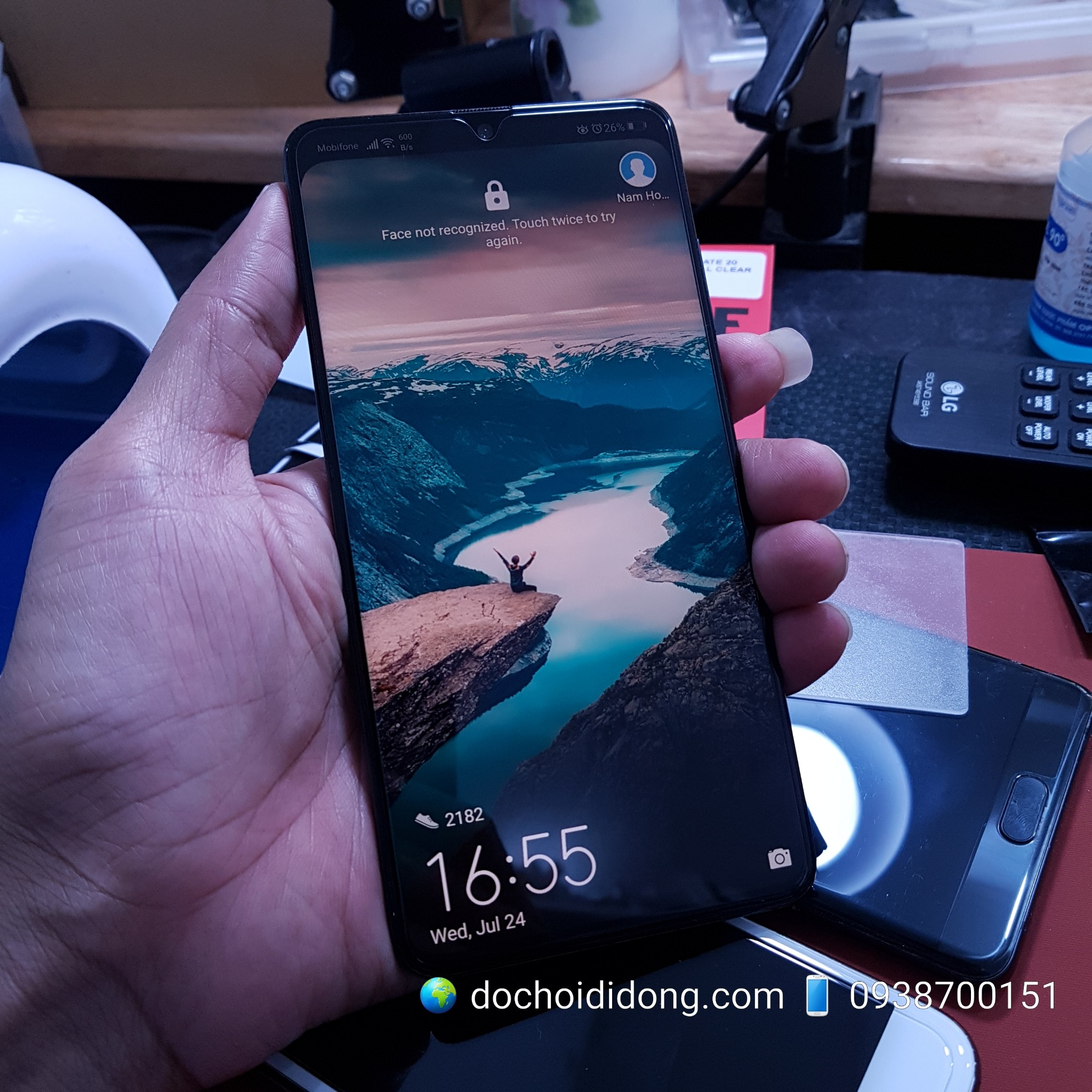Miếng dán cường lực Huawei Mate 20 Zacasel All Clear