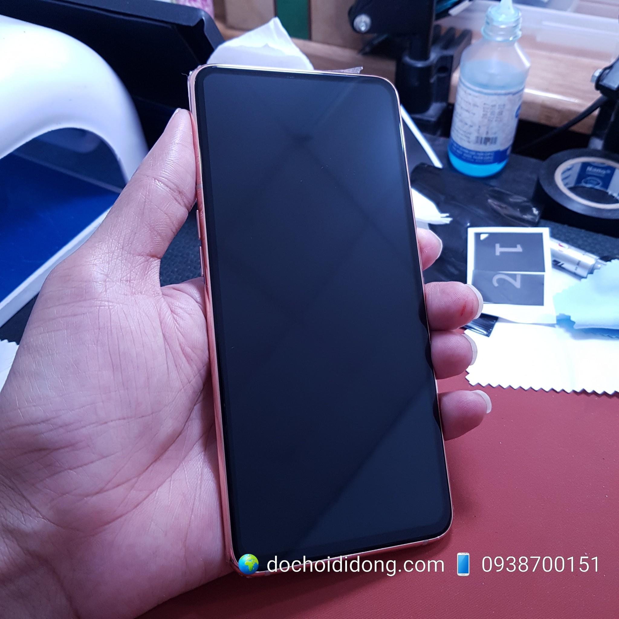 Miếng dán cường lực Samsung A80 A90 Nillkin CP+ Pro Full Màn Hình