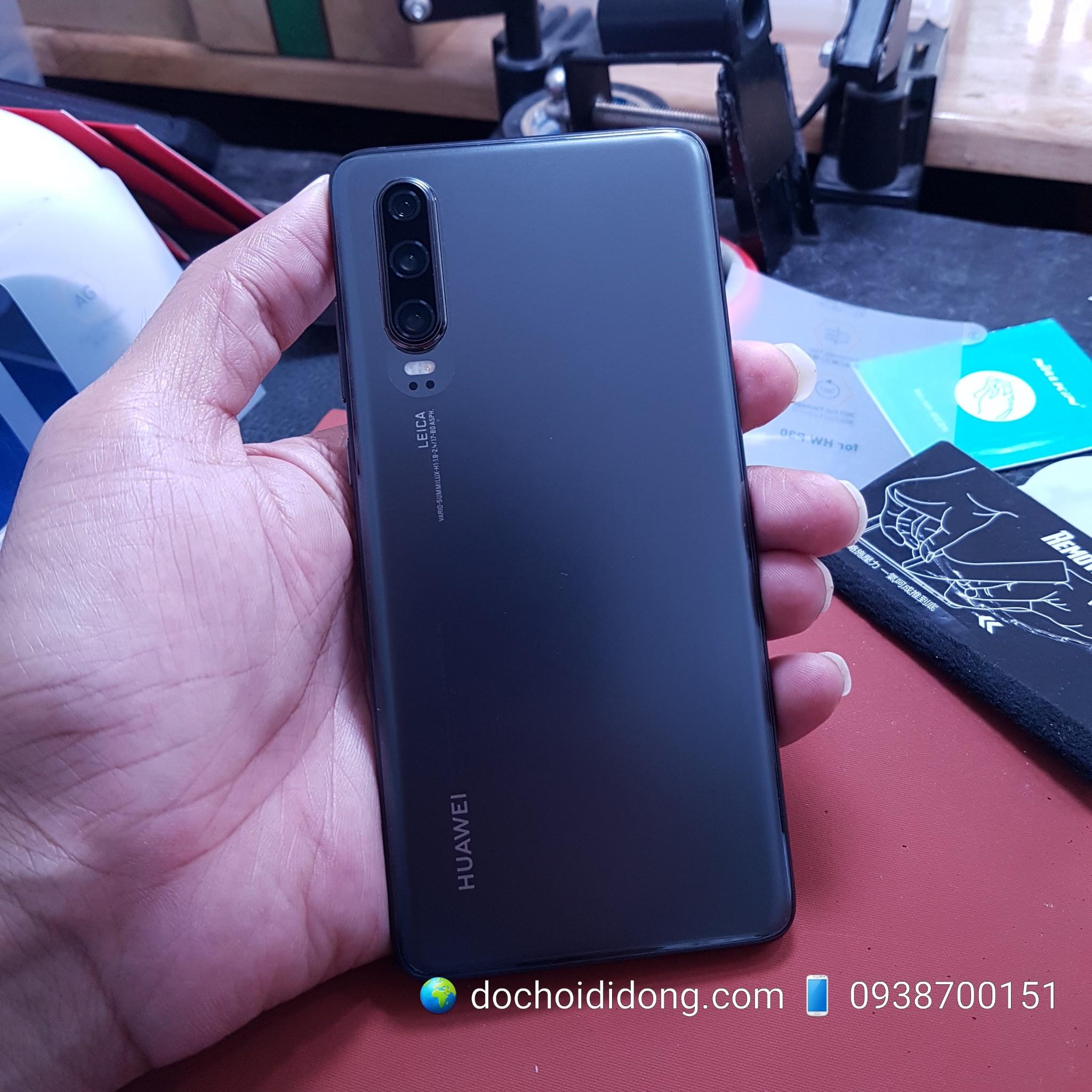 Miếng dán lưng nhám trong Huawei P30 Matte Flexible