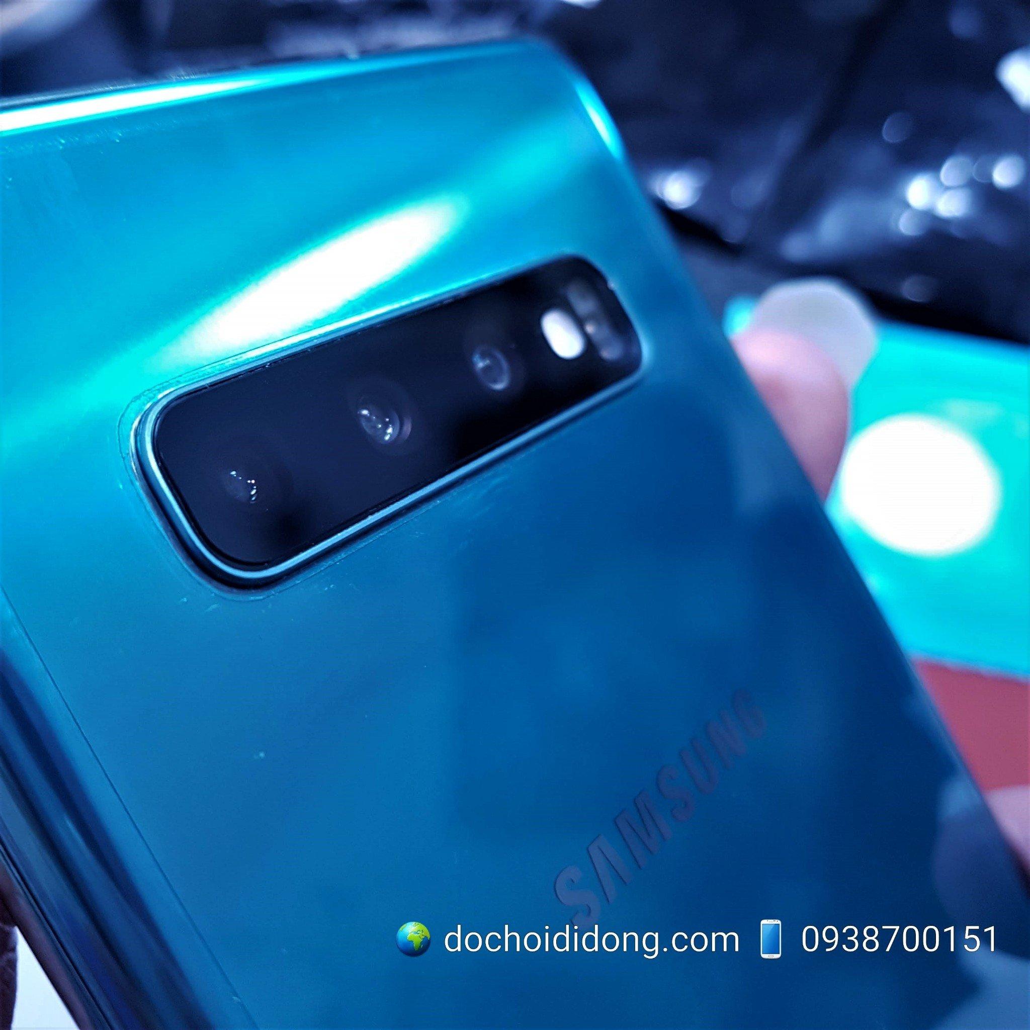 Miếng dán cường lực camera Samsung S10 Plus 2.5D