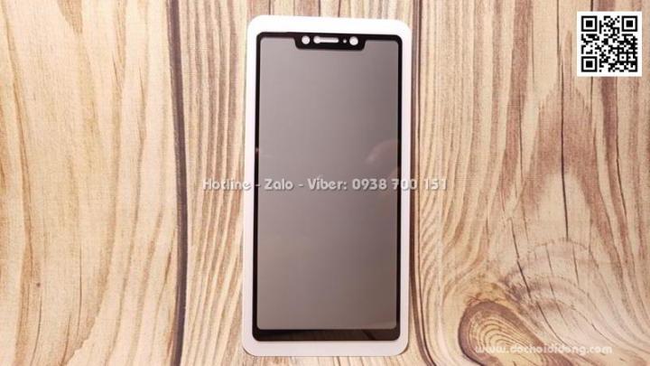Miếng dán cường lực full màn hình Xiaomi Mi 8 SE Zacase 3D Elite chống nhìn trộm
