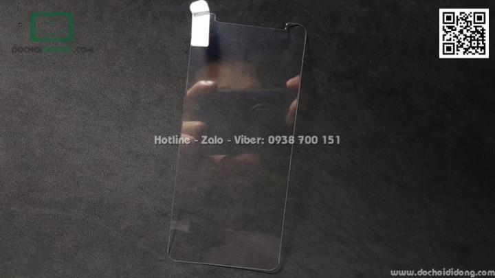Miếng dán cường lực Asus ZenFone Max Pro M1 Qii keo mềm