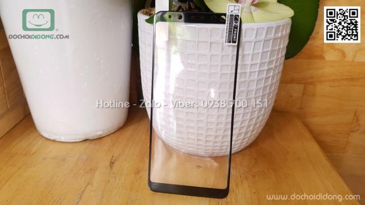 Miếng dán cường lực dẻo full màn hình Samsung A8 2018 Zacase 3D