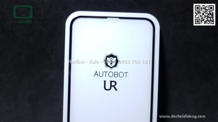 Miếng dán cường lực full màn hình iPhone XR AutoBot 0.26mm