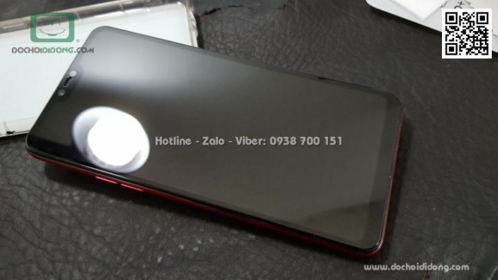 Miếng dán cường lực full màn hình Oppo F7 Zacase full keo