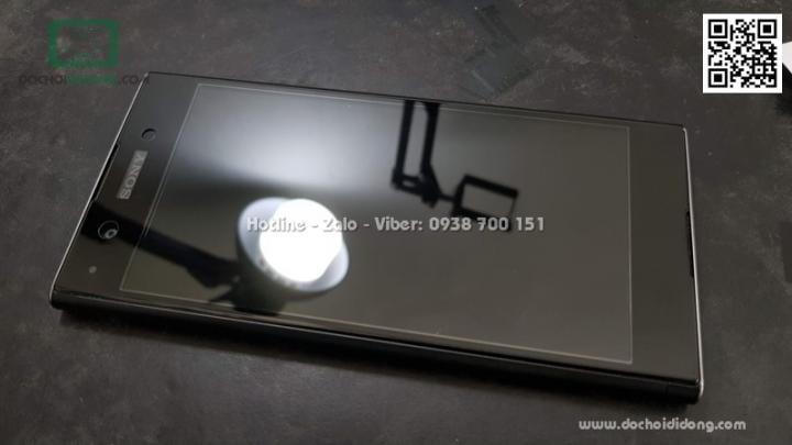 Miếng dán cường lực full màn hình Sony XA1 Plus Zacase full keo