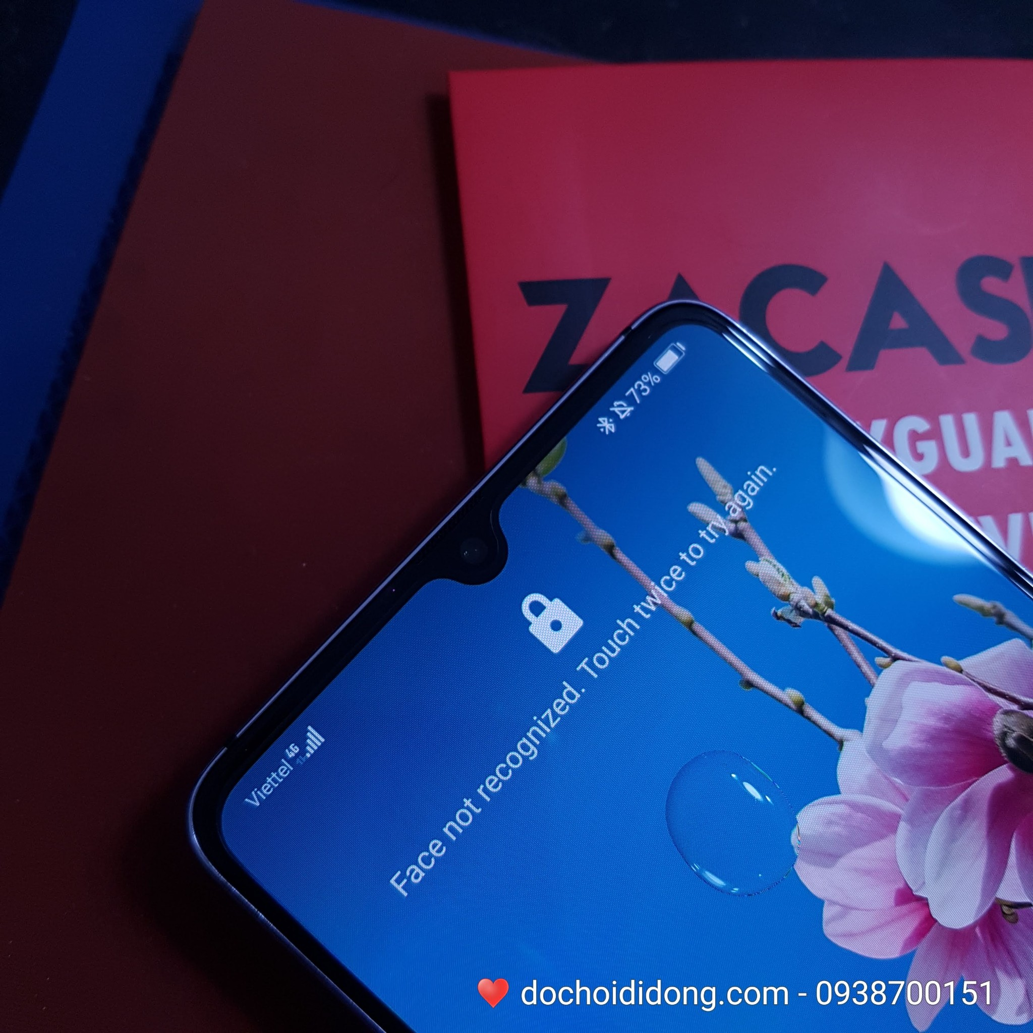 Miếng dán cường lực Huawei Mate 20X Zacase All Clear
