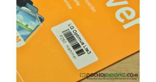Miếng dán cường lực LG Optimus LTE 3 F260 Hammer