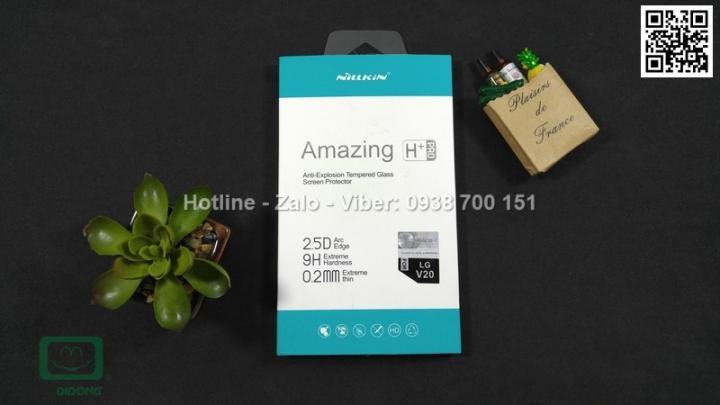 Miếng dán cường lực LG V20 Nillkin Amazing H+ Pro