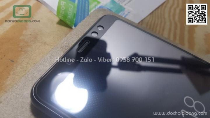 Miếng dán cường lực Samsung A8 2018 full màn hình 5D
