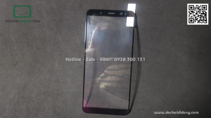 Miếng dán cường lực Samsung J6 full màn hình Zacase full keo