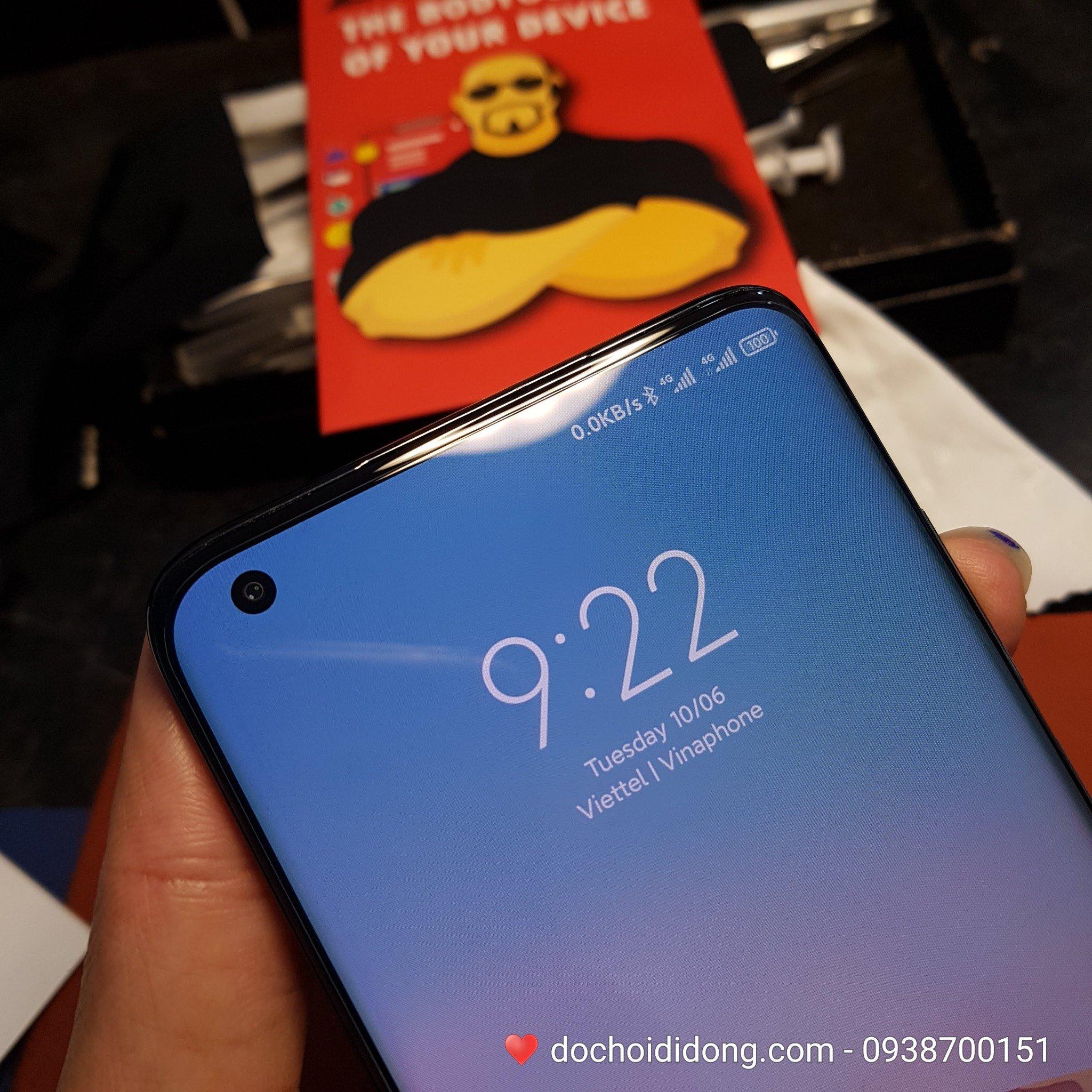 Miếng dán cường lực Xiaomi Mi 10 Ultra Zacase keo UV cao cấp