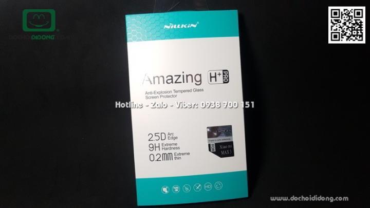 Miếng dán cường lực Xiaomi Mi Max 3 Nillkin Amazing H+ Pro