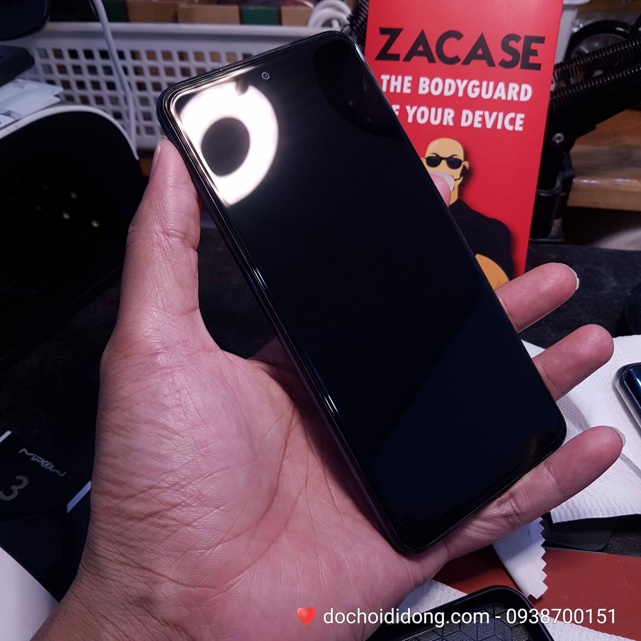 Miếng dán cường lực Xiaomi Redmi note 9S Zacase All Clear True 2.5D