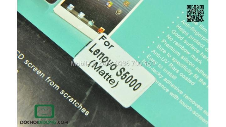 Miếng dán màn hình Lenovo S5000 chống vân tay