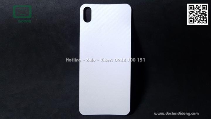 Miếng dán mặt lưng Huawei Nova 3i vân carbon