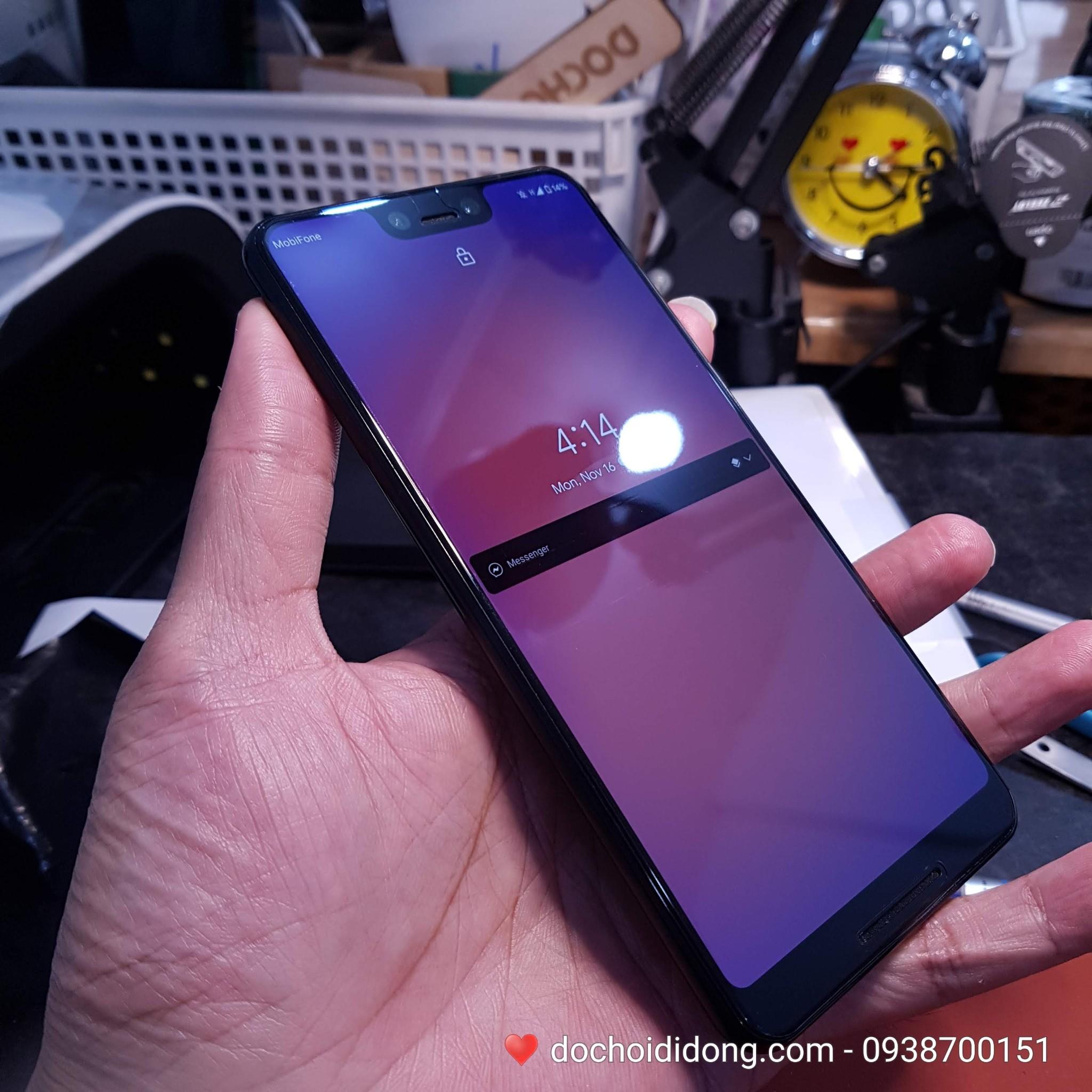 Miếng dán PPF Rock Google Pixel 3 XL trong, nhám, đổi màu cao cấp
