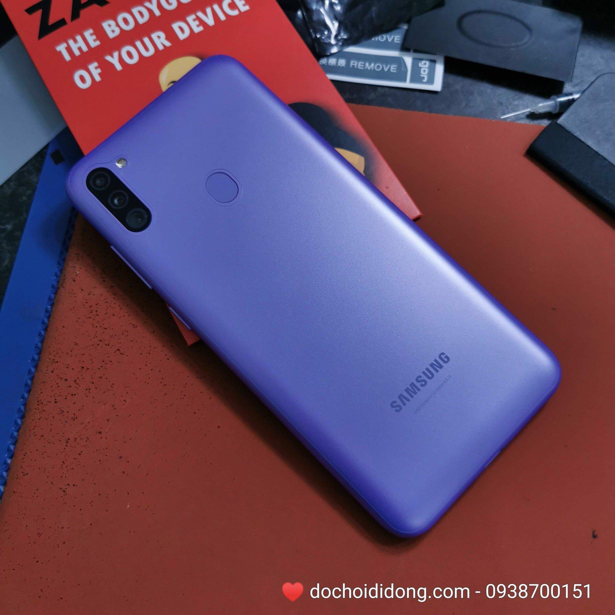 Miếng dán PPF Rock Samsung M11 trong, nhám, đổi màu cao cấp