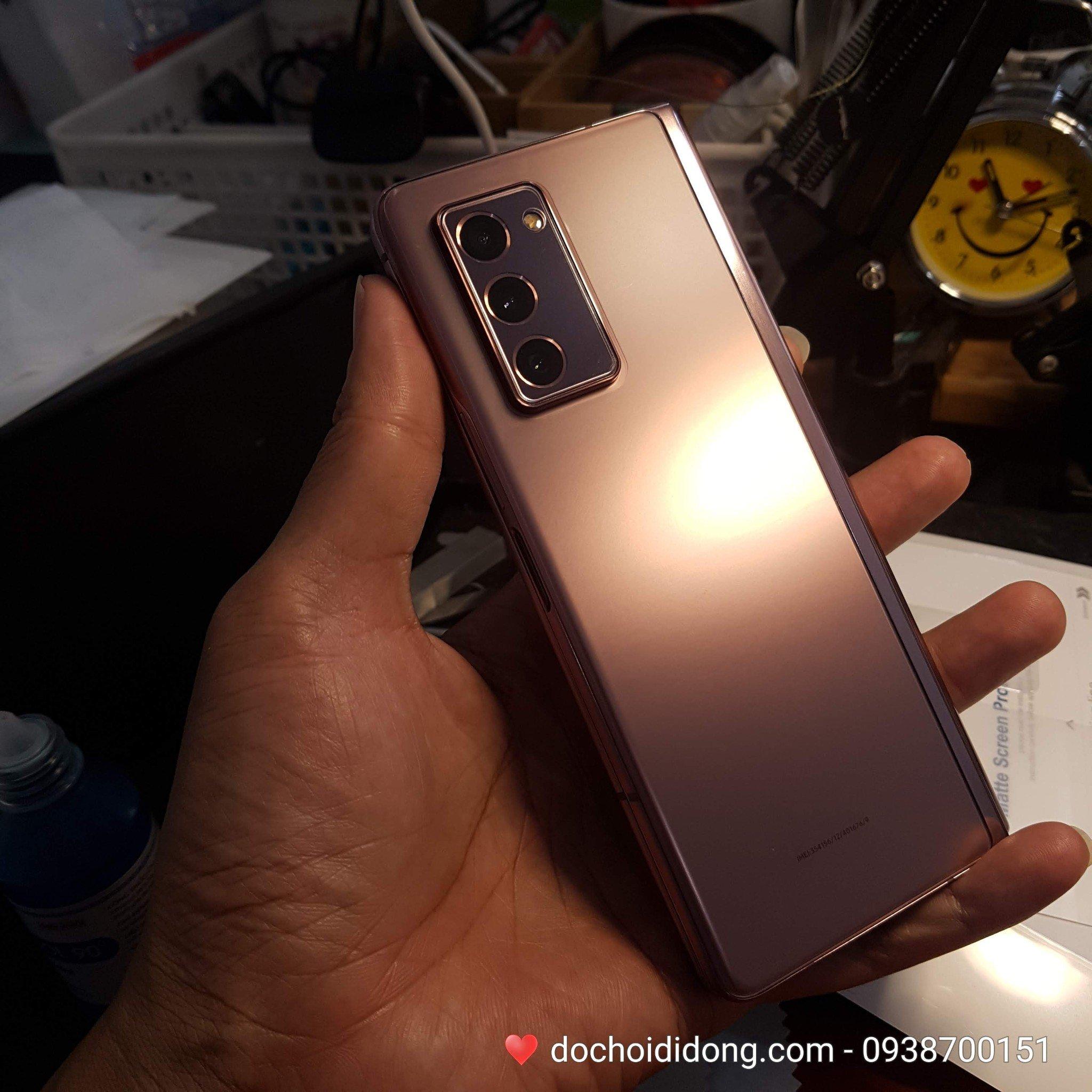 CHUẨN FORM - Miếng dán PPF Samsung Z Fold 2 trong, nhám, đổi màu cao cấp