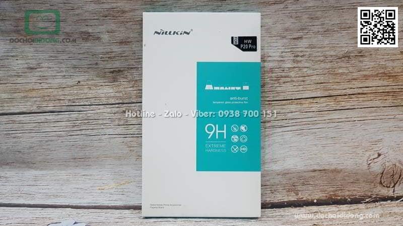 Miếng dán cường lực Huawei P20 Pro Nillkin 9H