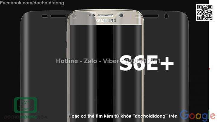 Miếng dán màn hình Samsung Galaxy S6 Edge Plus Indeed full loại mềm