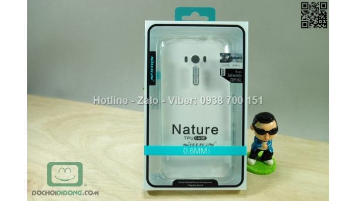 Ốp lưng Asus Zenfone Selfie ZD551K Nillkin dẻo trong siêu mỏng