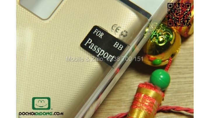 Ốp lưng Blackberry Passport Nillkin vân sần