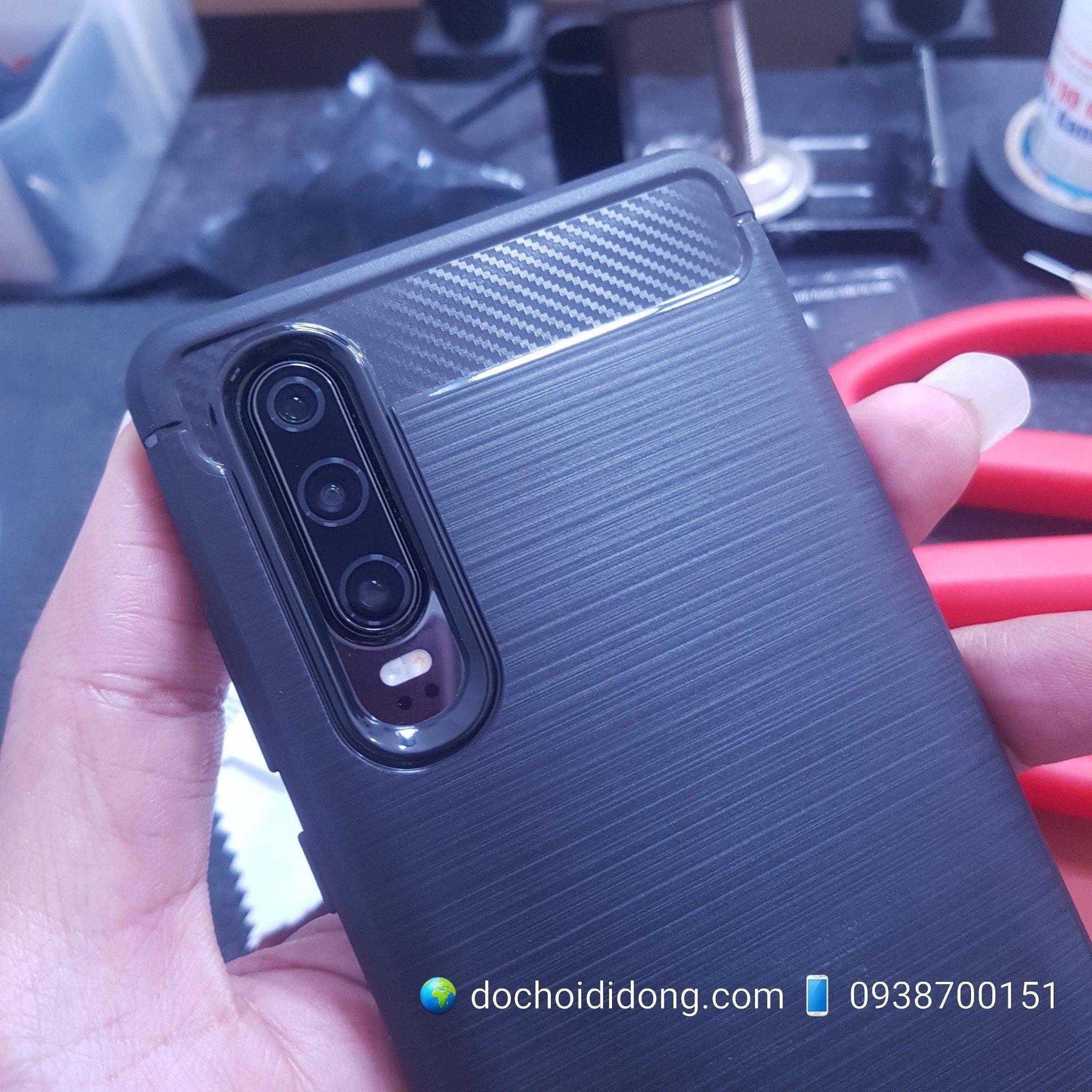 Ốp Lưng Huawei P30 Likgus Chống Sốc Vân Kim Loại