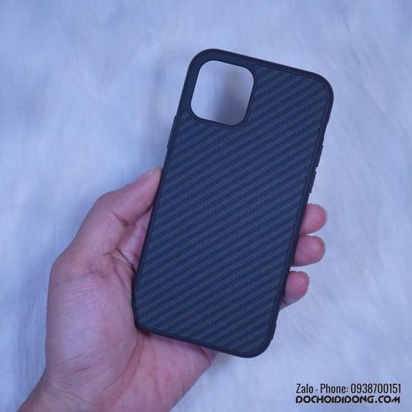 Ốp lưng iPhone 11 Pro Max Nillkin Carbon